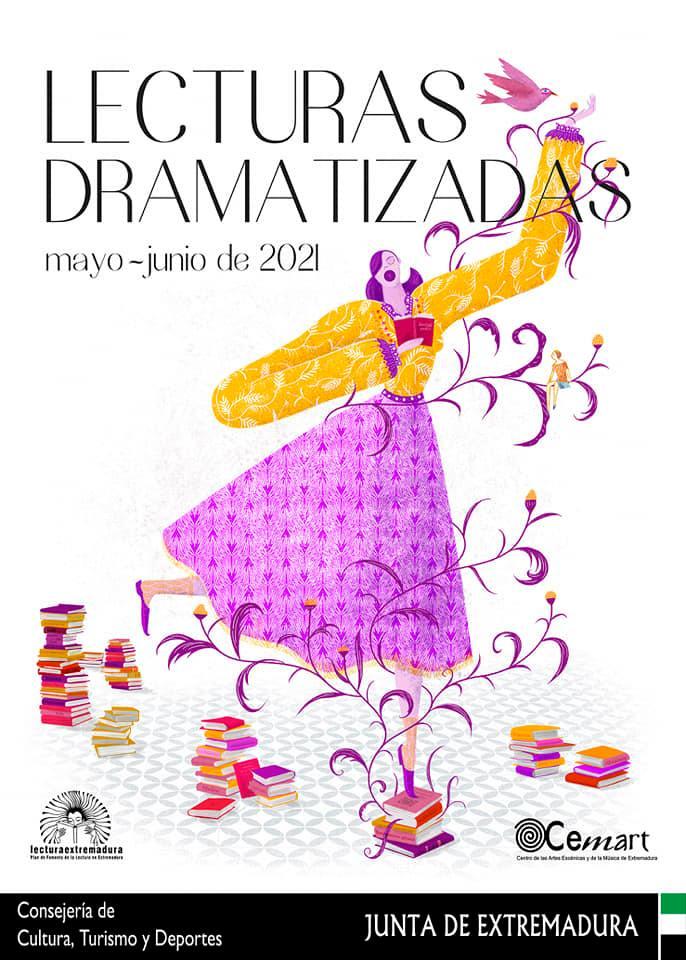 'LA MALETA' en Biblioteca Municipal Cascales Muñoz (Villafranca de los Barros). Lectura Dramatizada