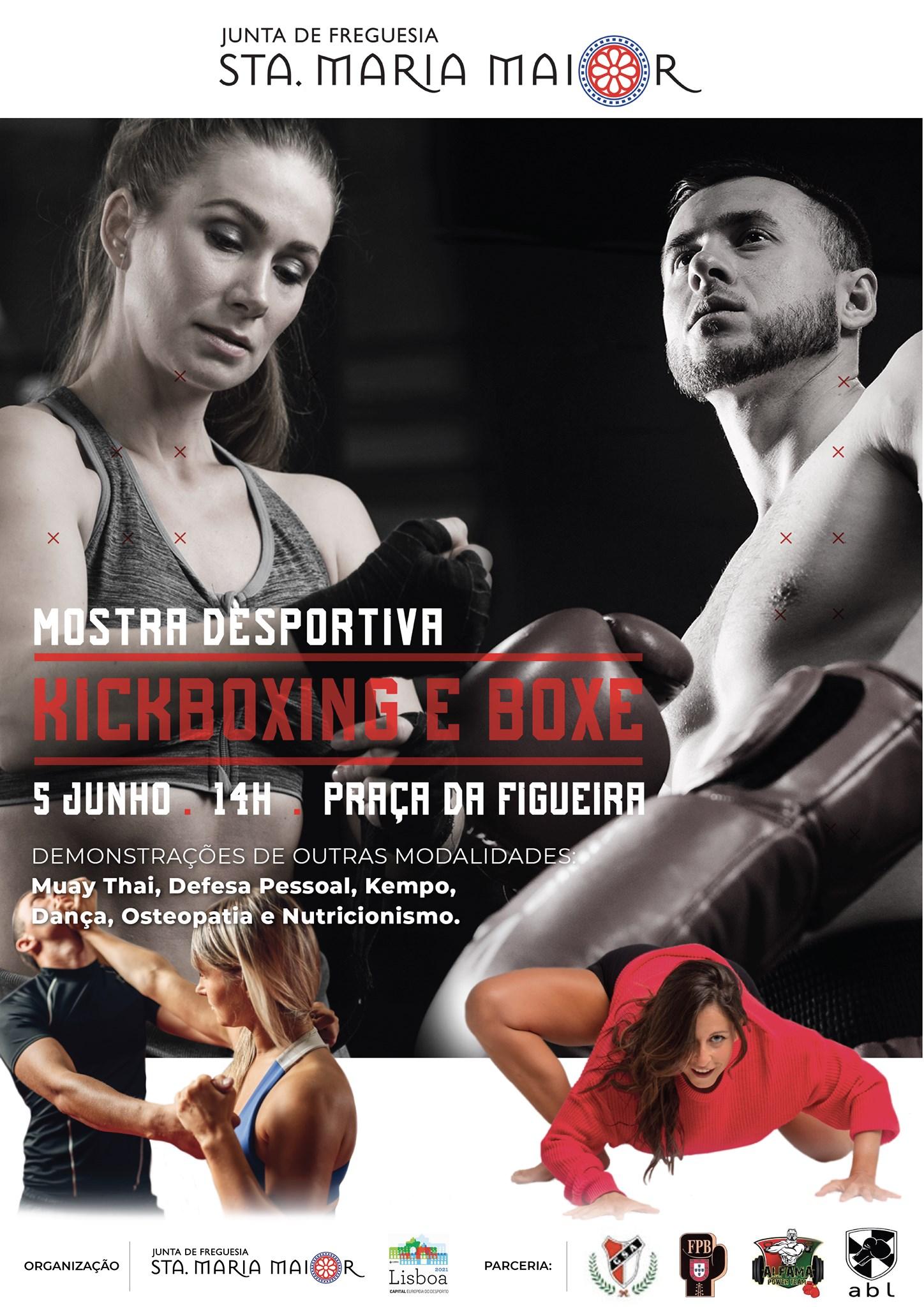 Mostra Desportiva | Kickboxing e Boxe