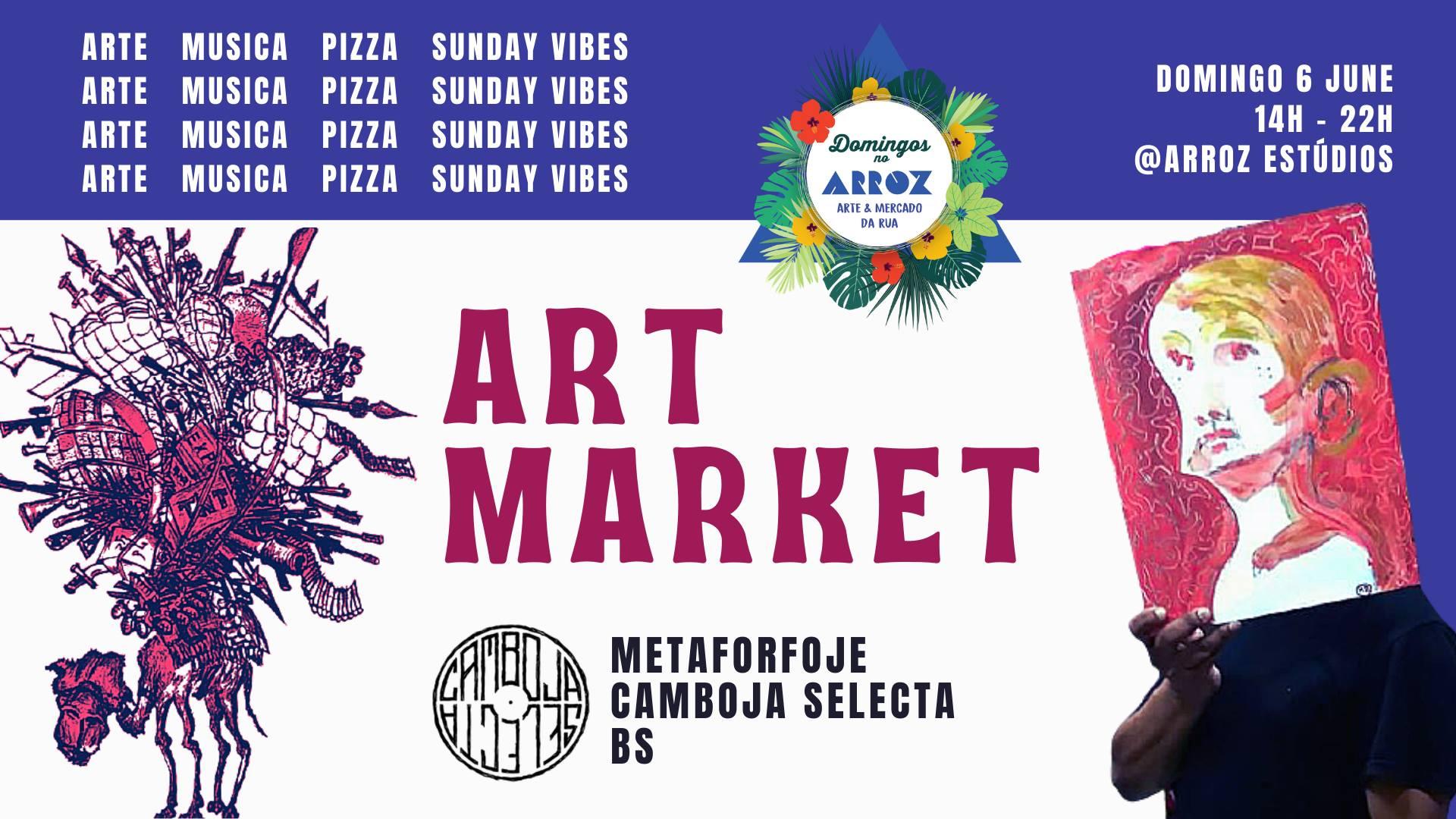 Mercado de Arte I Domingos no Arroz