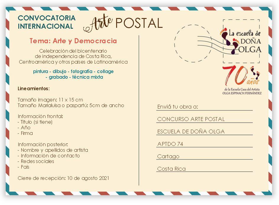 CONVOCATORIA INTERNACIONAL: ARTE Y DEMOCRACIA (200 años de independencia)