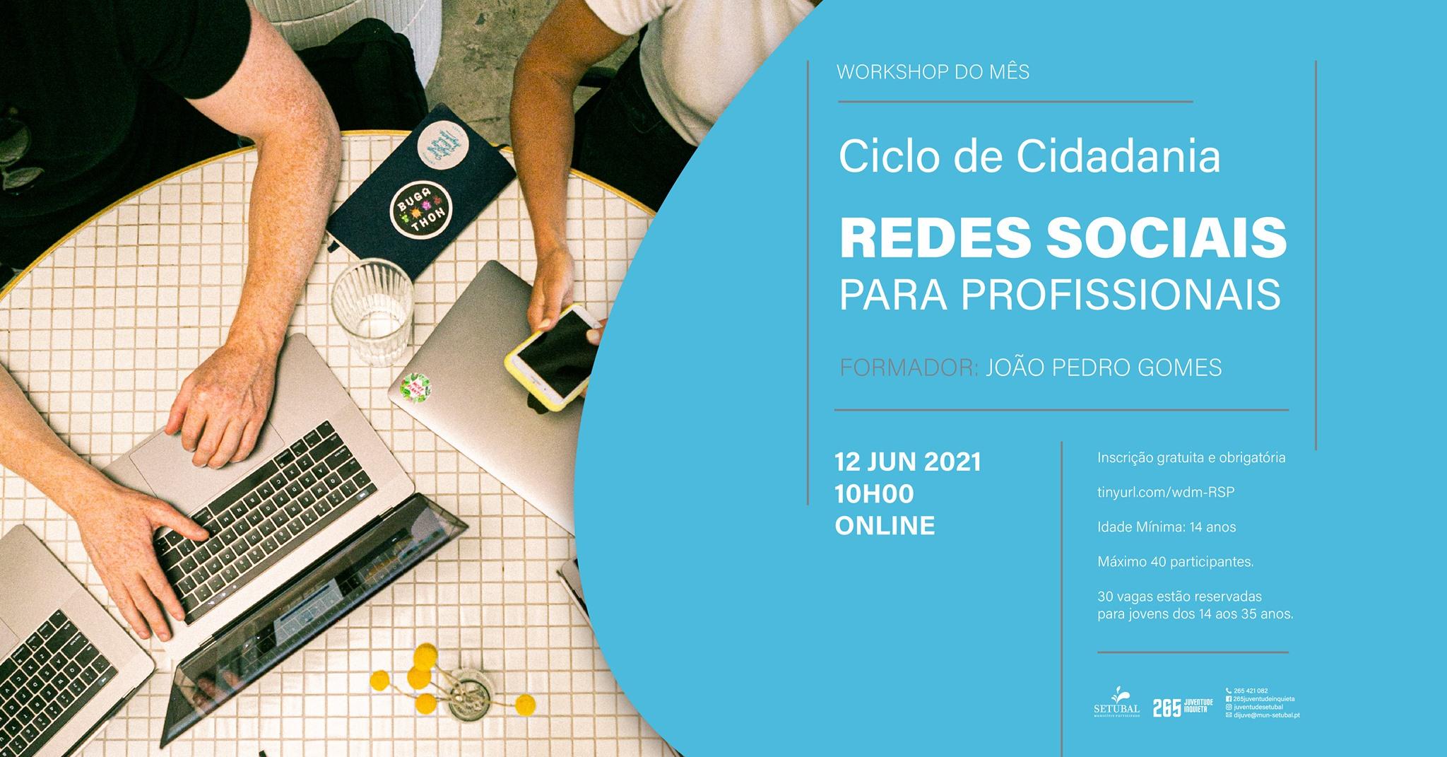 Workshop: Redes Sociais Profissionais