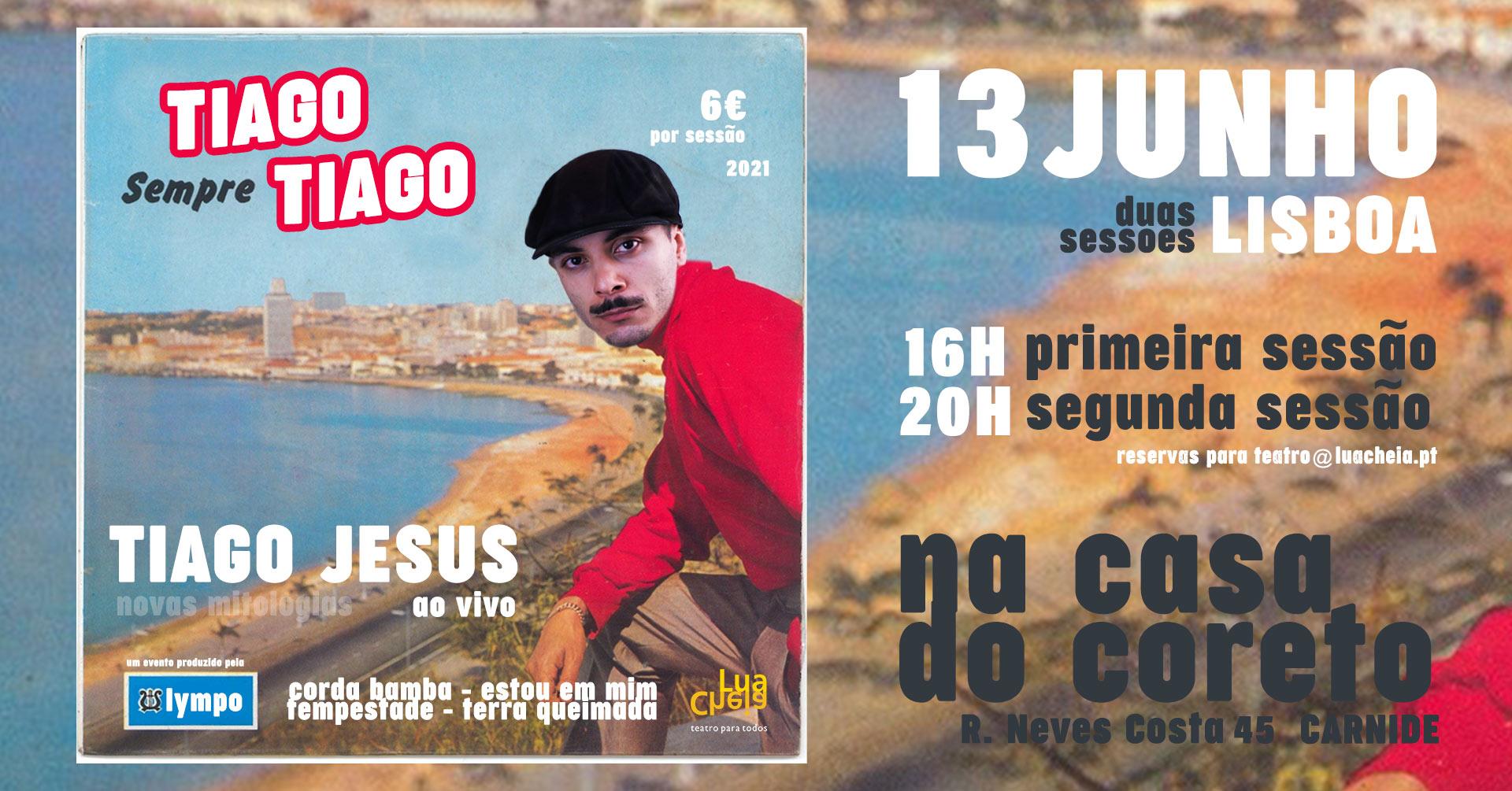 TIAGO JESUS | EM LISBOA | A Solo e ao Vivo!