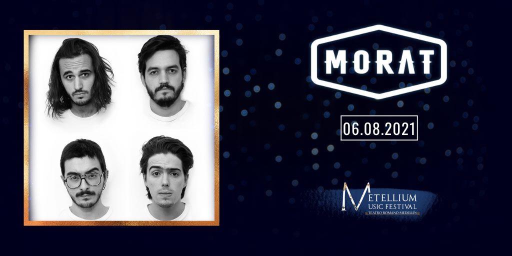 Metellium Music Festival: Morat, 'A Donde Vamos Tour 2021'.