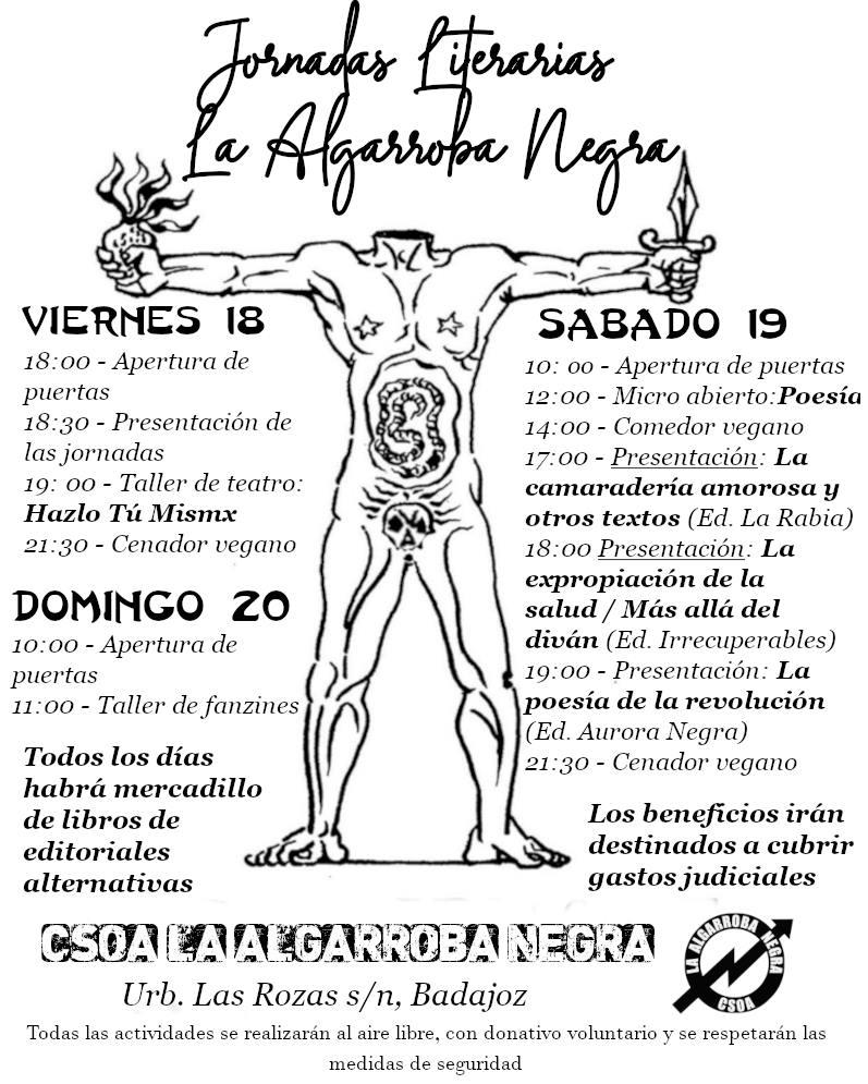 Jornadas literarias La Algarroba Negra