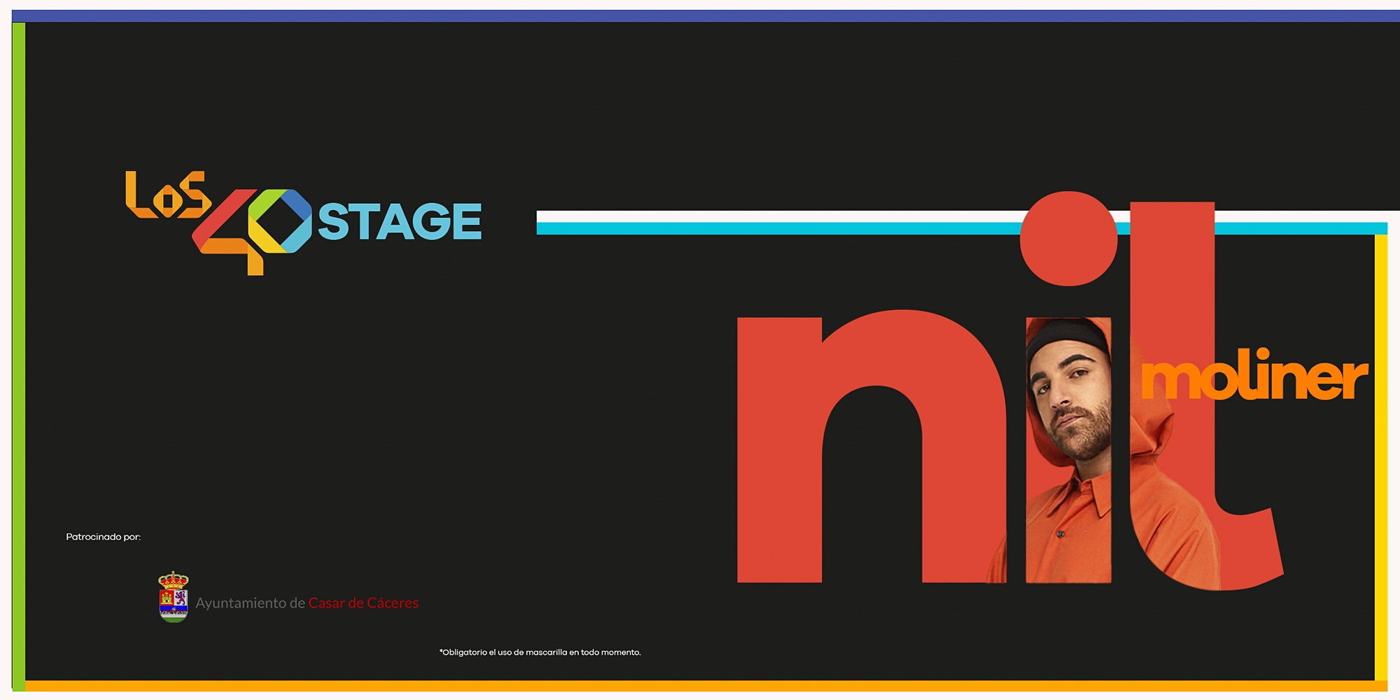 LOS40 Stage con Nil Moliner