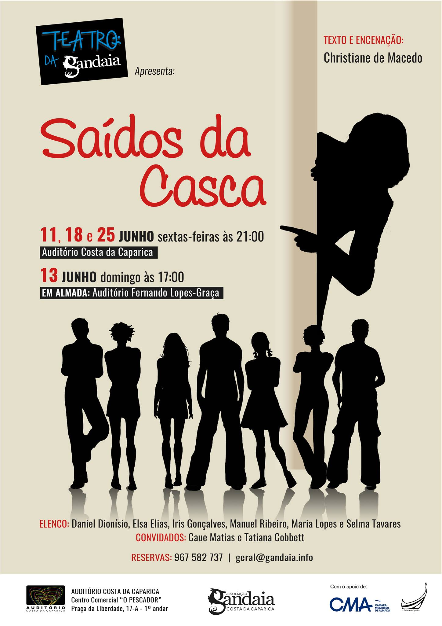 Teatro da Gandaia - Saídos da Casca