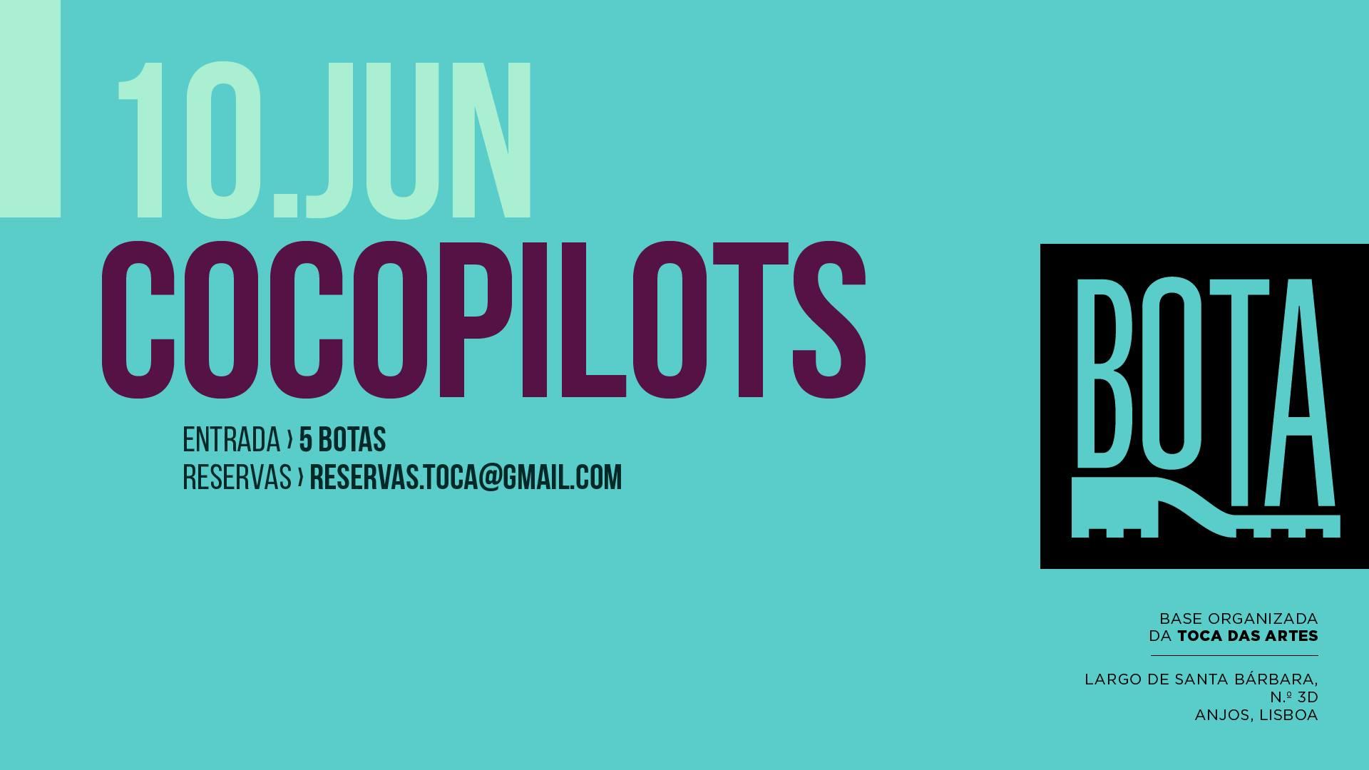 CocoPilots na BOTA