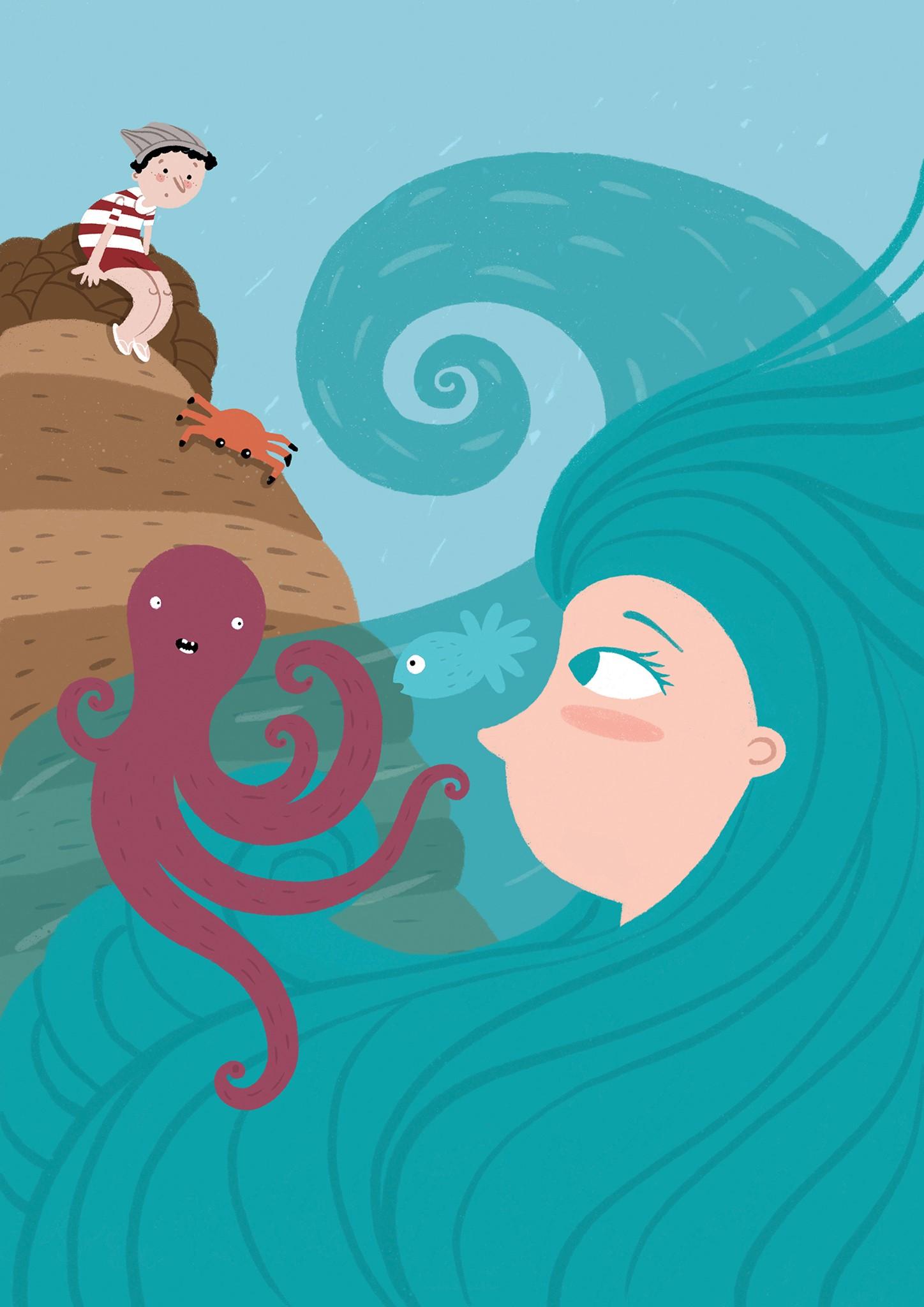 A Menina do Mar | Histórias da Formiga Rabiga
