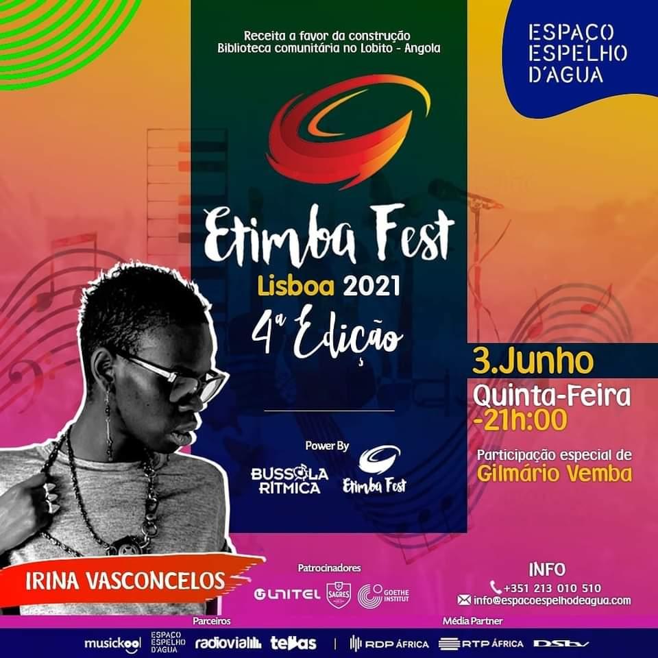 Irina Vasconcelos em concerto Lisboa Rock Fusion Jazz
