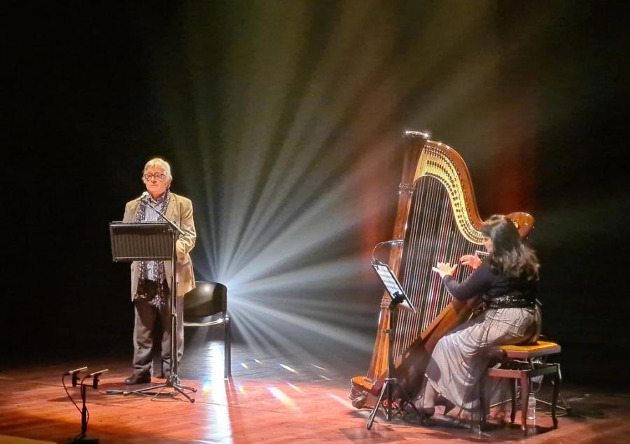 Recital de Poesia e Harpa / Palavra-Música