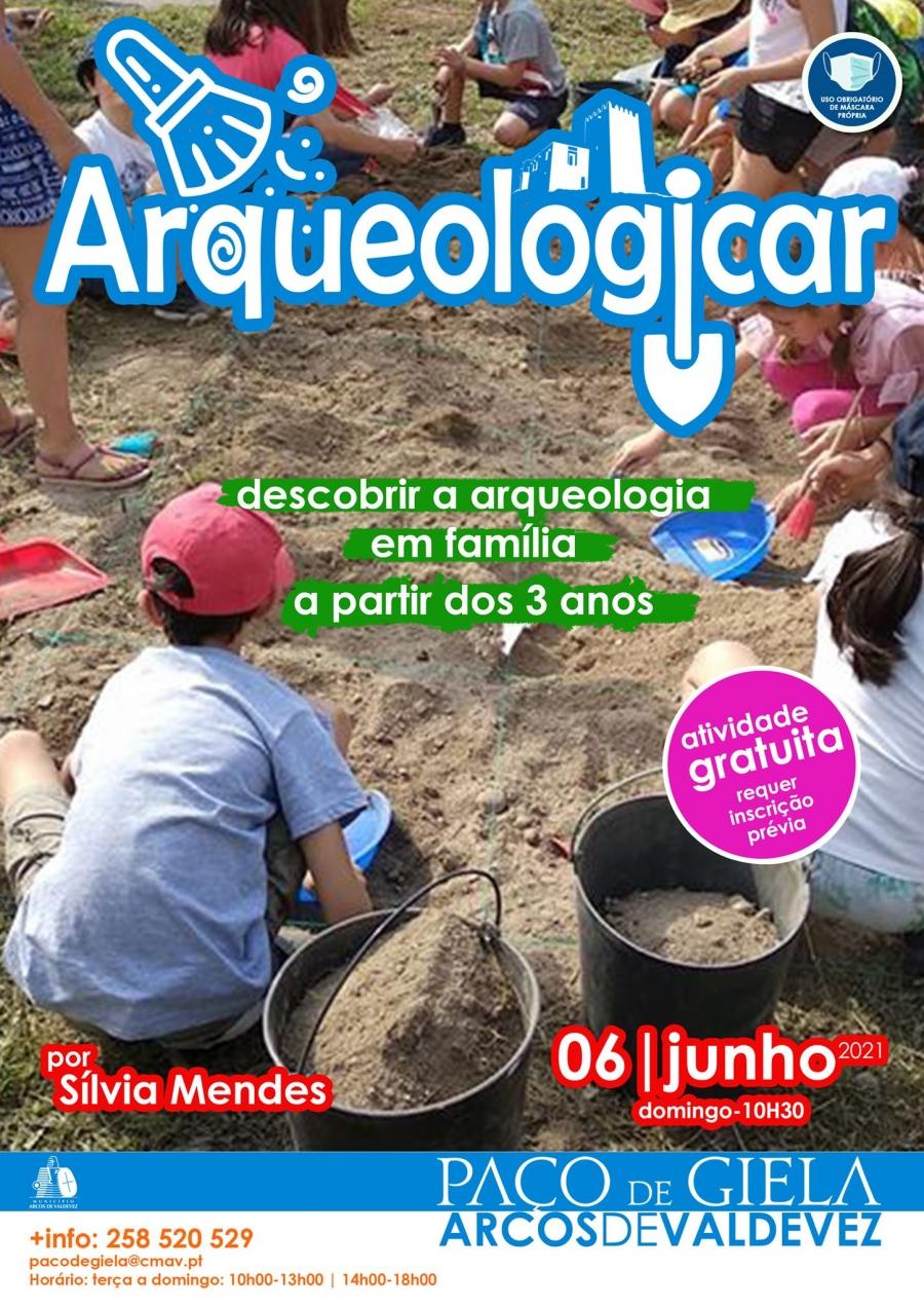 Arqueologicar no Paço de Giela