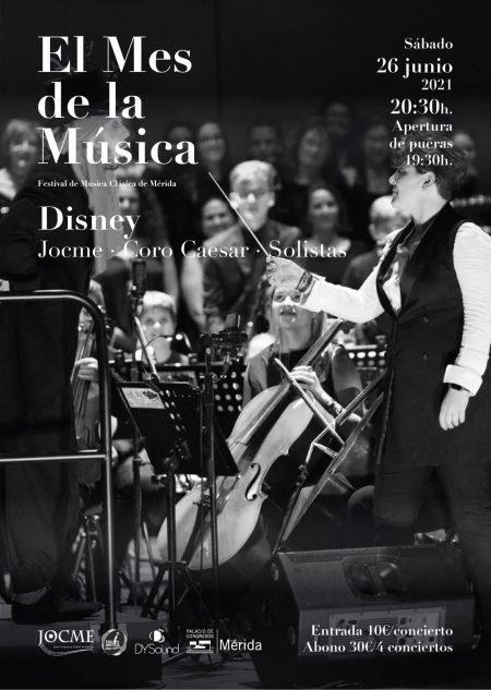 El Mes de la Música: Disney (Joven Orquesta Ciudad de Mérida)