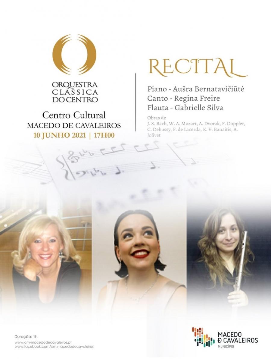 Recital 'Piano, Voz e Flauta'