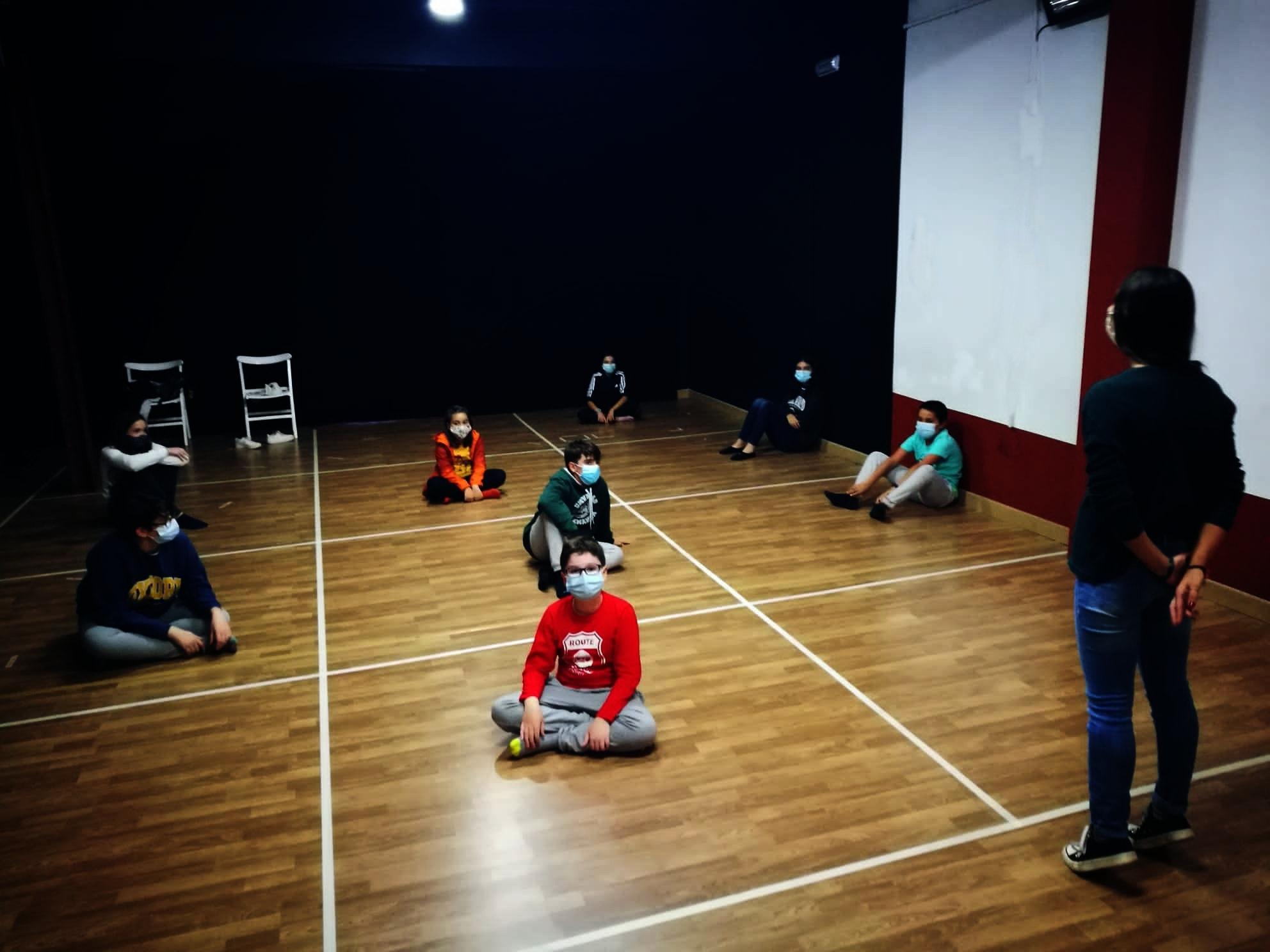 Clase Abierta de Teatro y 'El sueño de Niño'. Grupos Las Aves, Las Nubes y Gorgorito