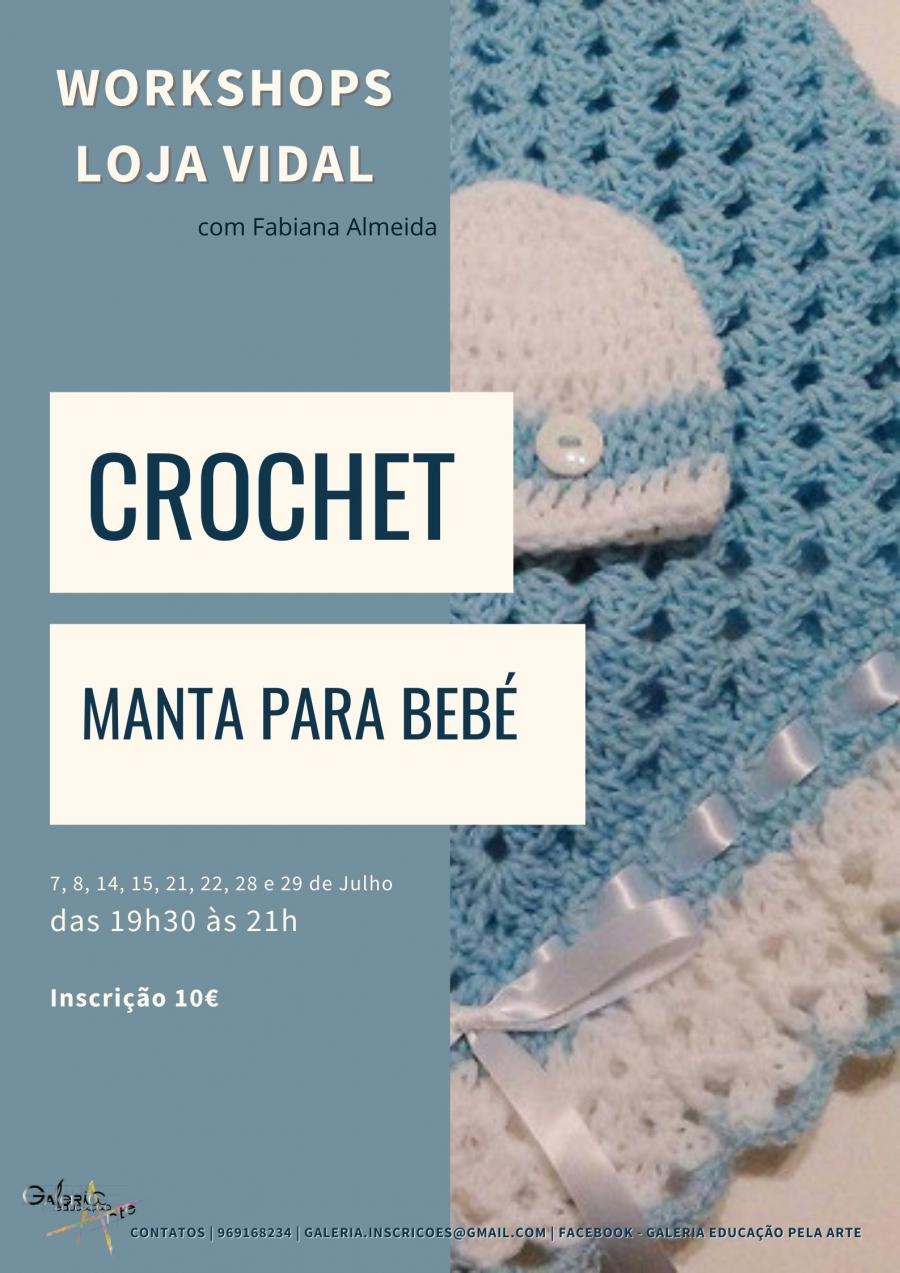 Workshop Loja Vidal: Crochet