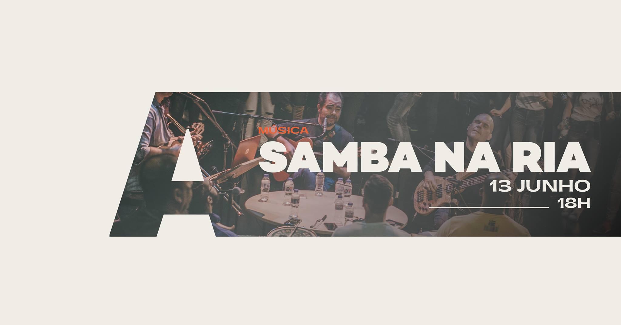 Palco Central apresenta Samba na Ria @AvenidaCC