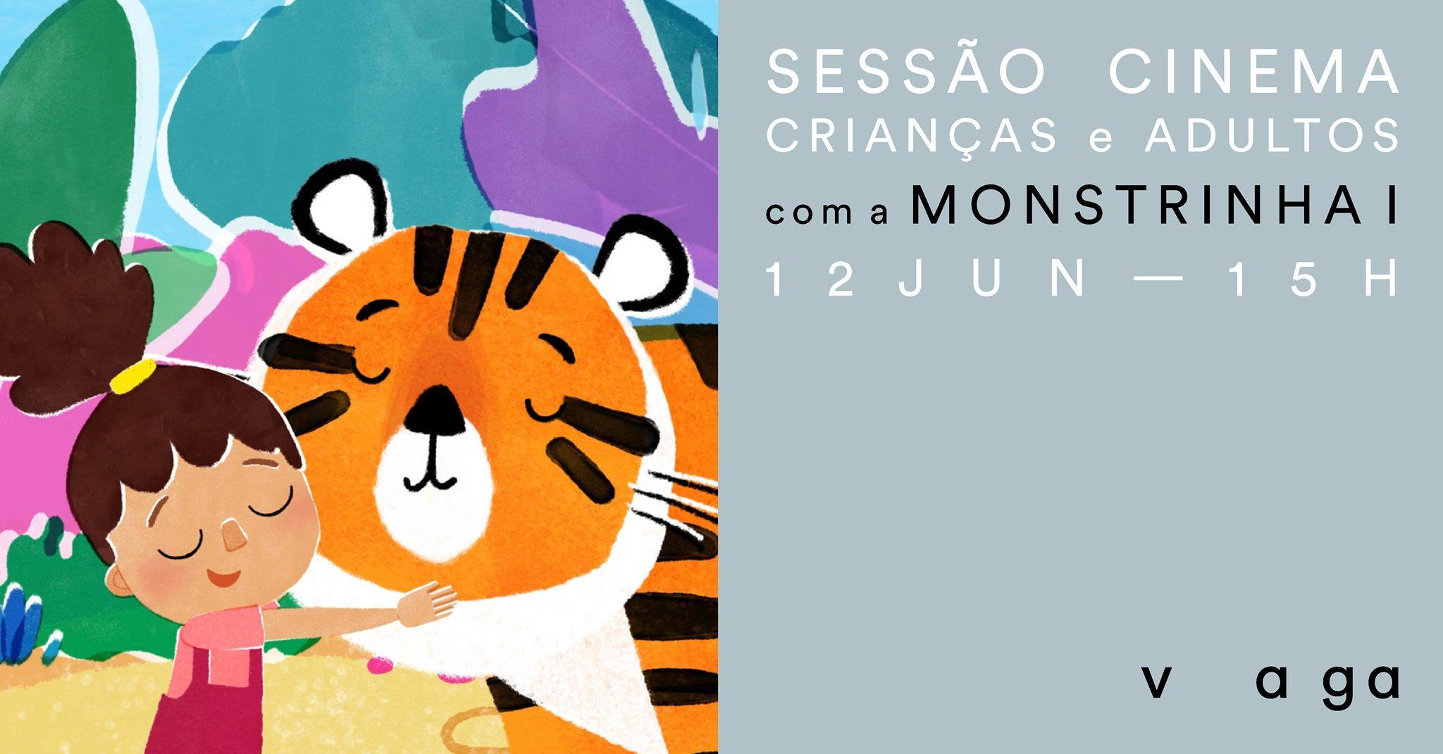 Sessão de Cinema para crianças e adultos com a Monstrinha I