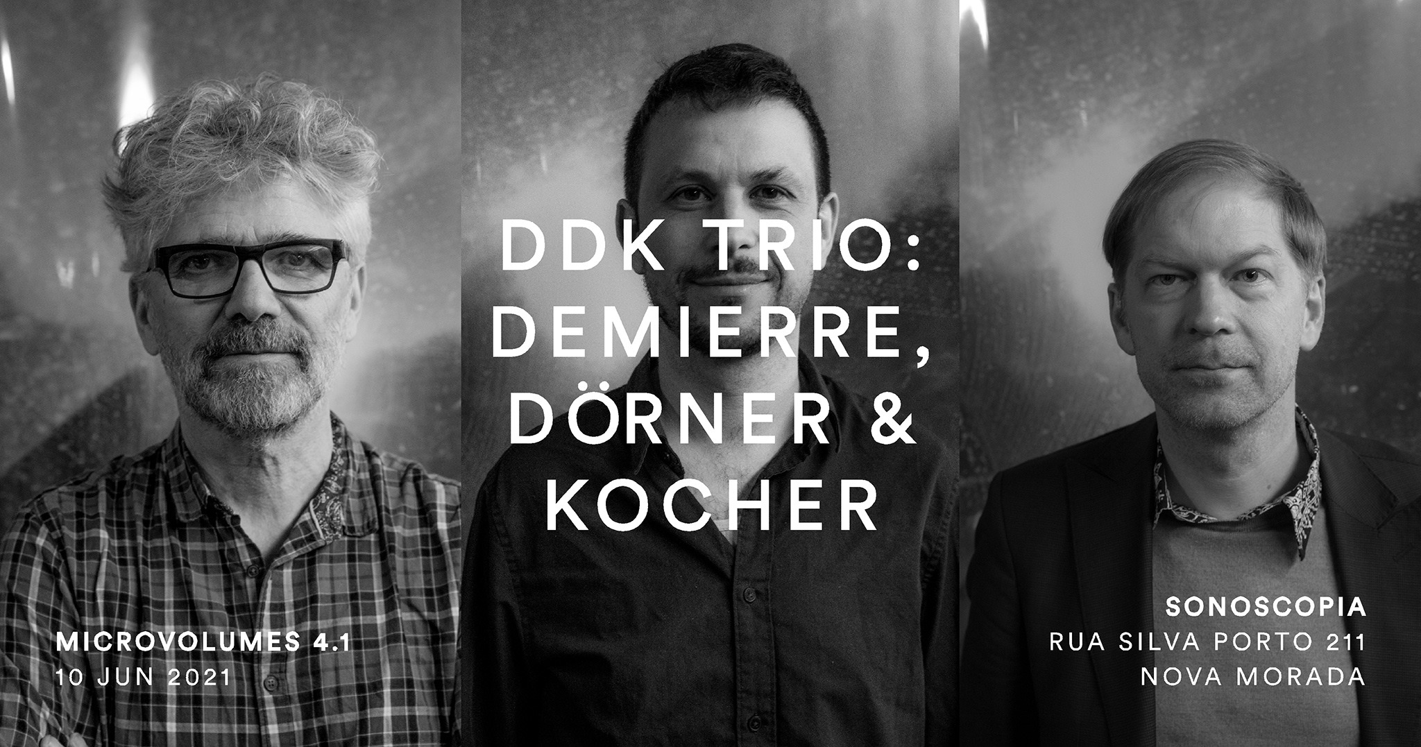 Microvolumes 4.1   DDK Trio: Jacques Demierre, Axel Dörner & Jonas Kocher