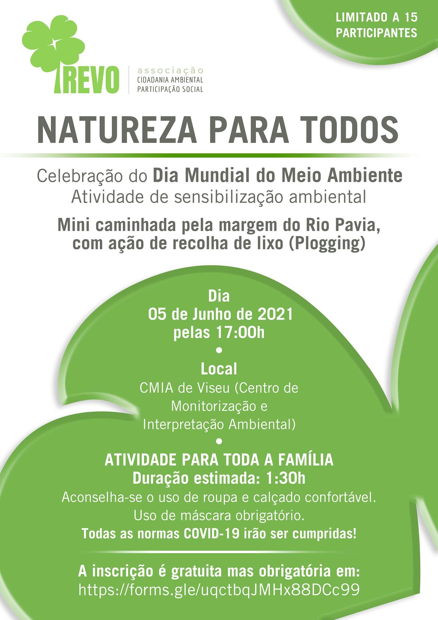 Natureza para Todos - Comemoração do dia Mundial do Ambiente
