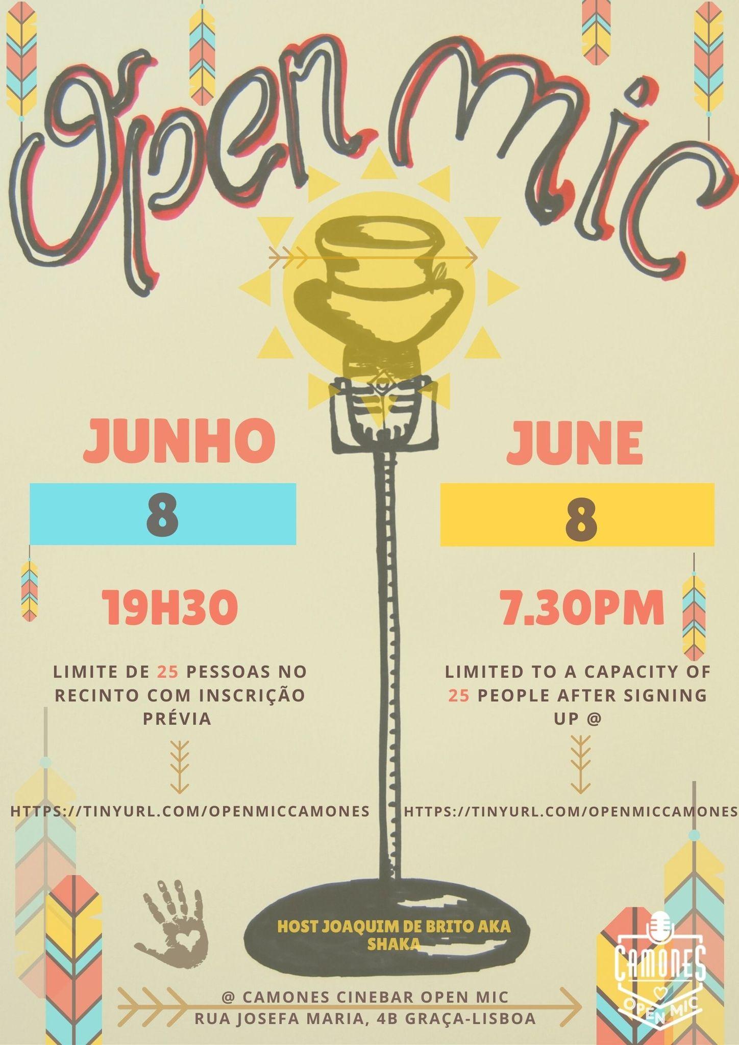 Open Mic - 70ª edição - All Arts, All Ages