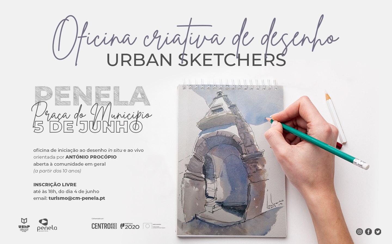 Oficina Criativa de Desenho Urban Sketchers