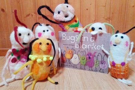 Atelier - Bugs in a blanket (Pulgas no cobertor)