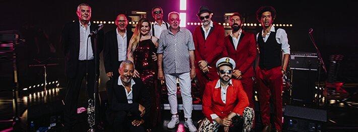 Cais Sodré Funk Connection convidam Paulo de Carvalho