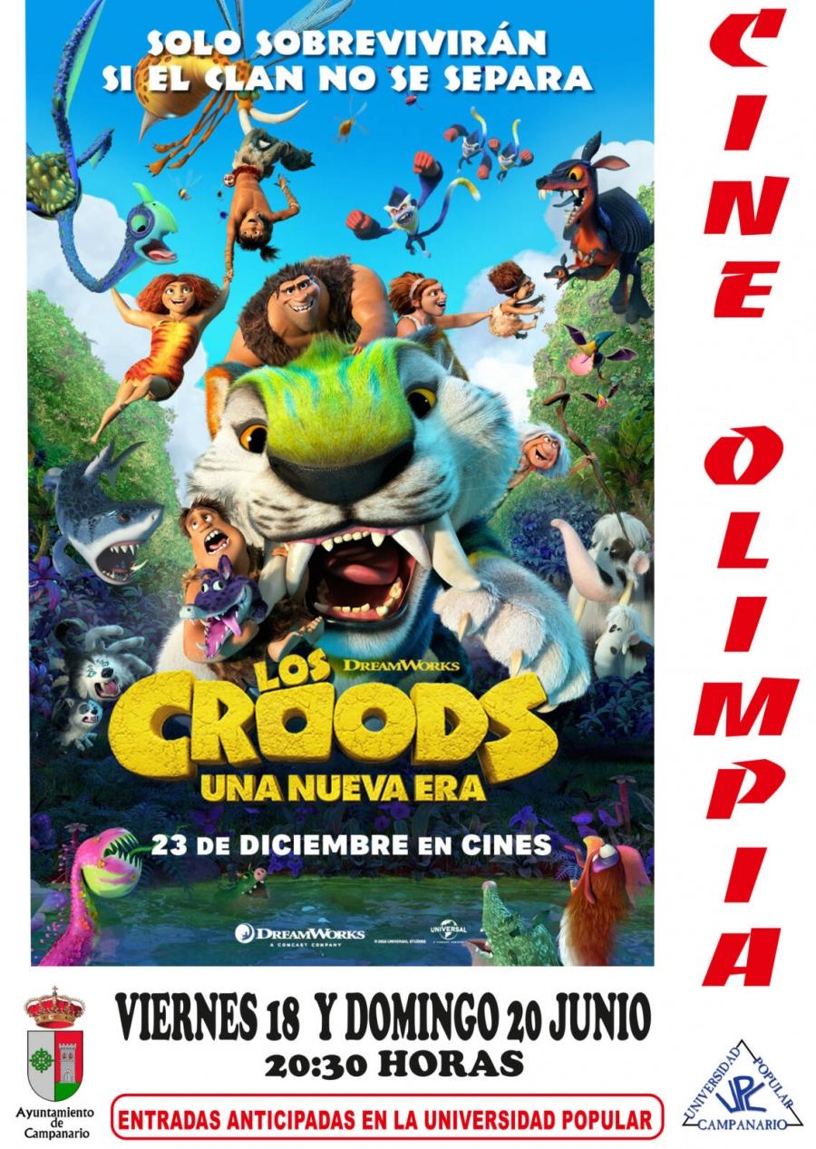 """Cine: Los Croods """"Una nueva era"""""""