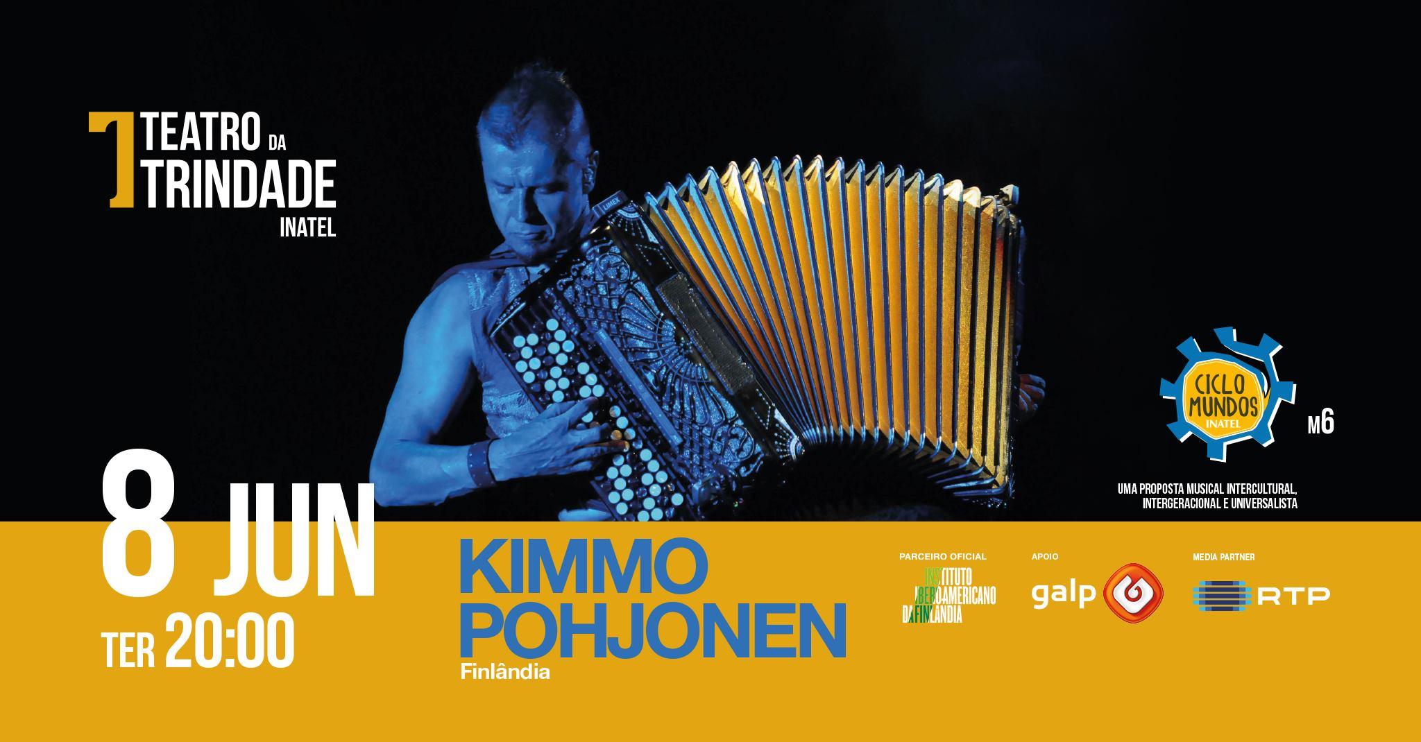 Ciclo Mundos com Kimmo Pohjonen
