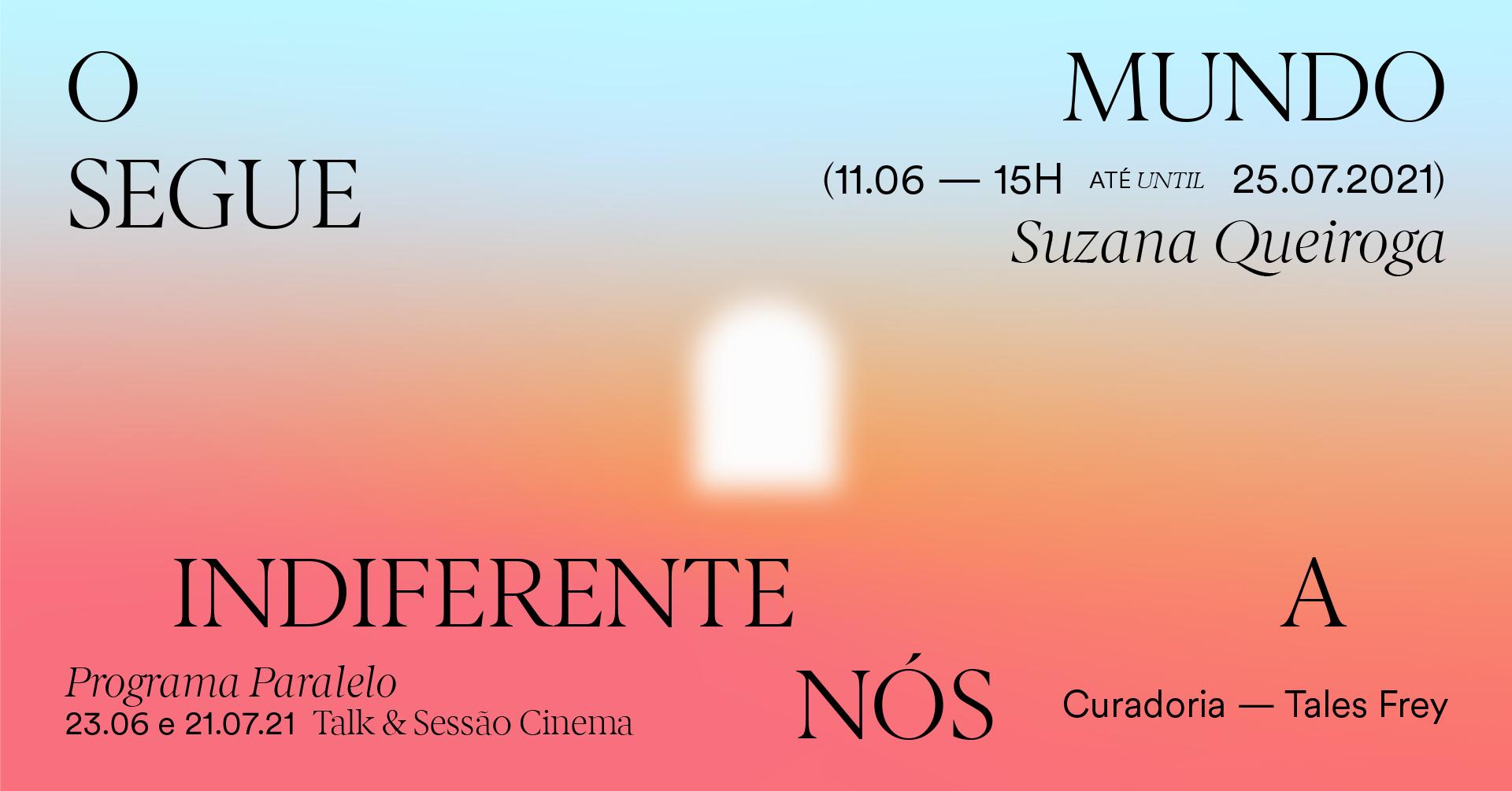 EM FLUXO : Cinema à mesa & conversa com Suzana Queiroga & Tales Frey