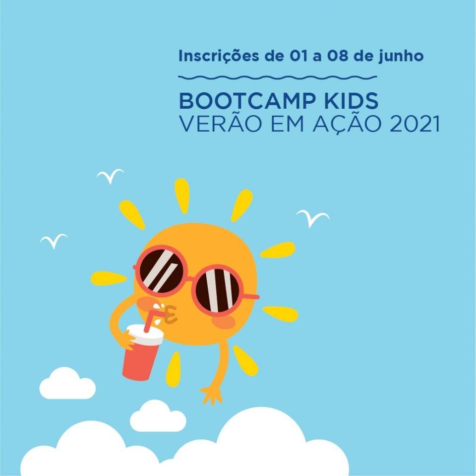 BootCamp Kids - Verão Em Ação: Inscrições Abertas