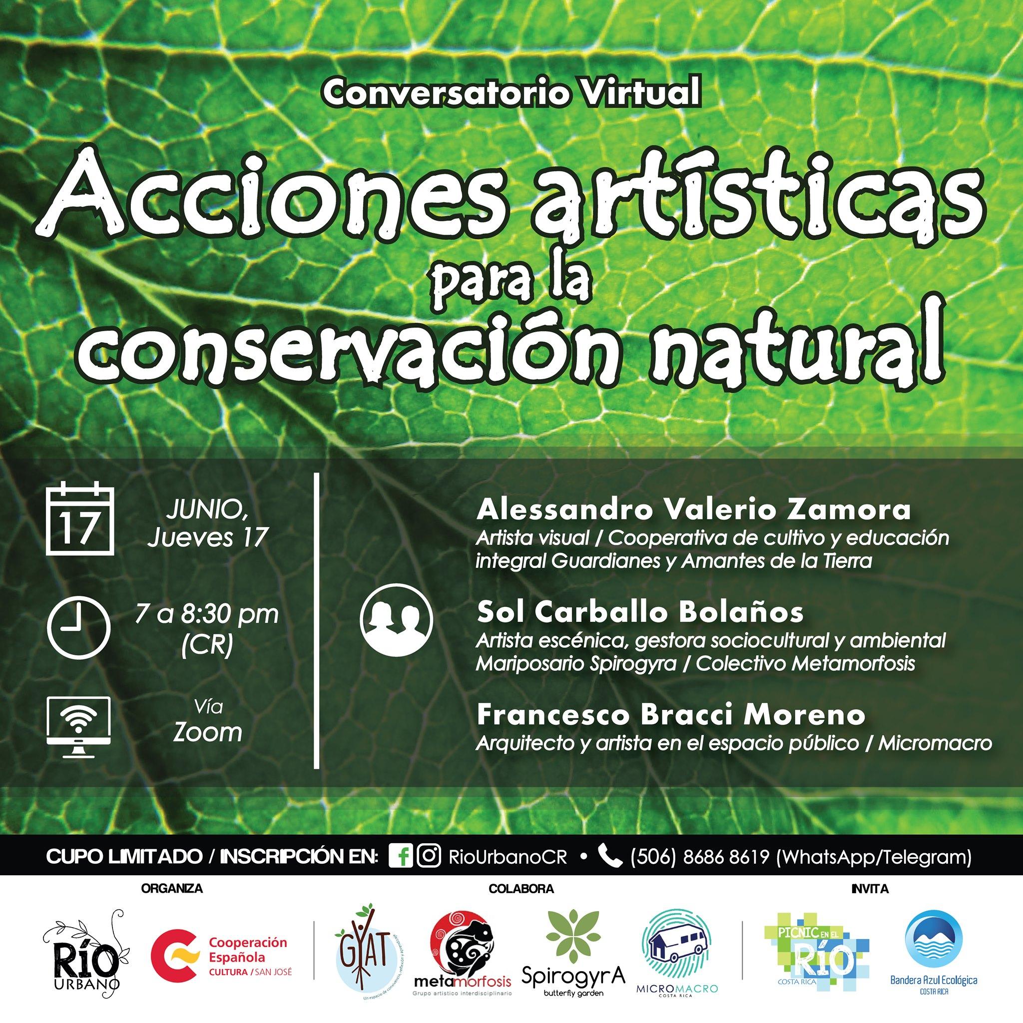 Conversatorio: 'Acciones artísticas para la conservación natural'