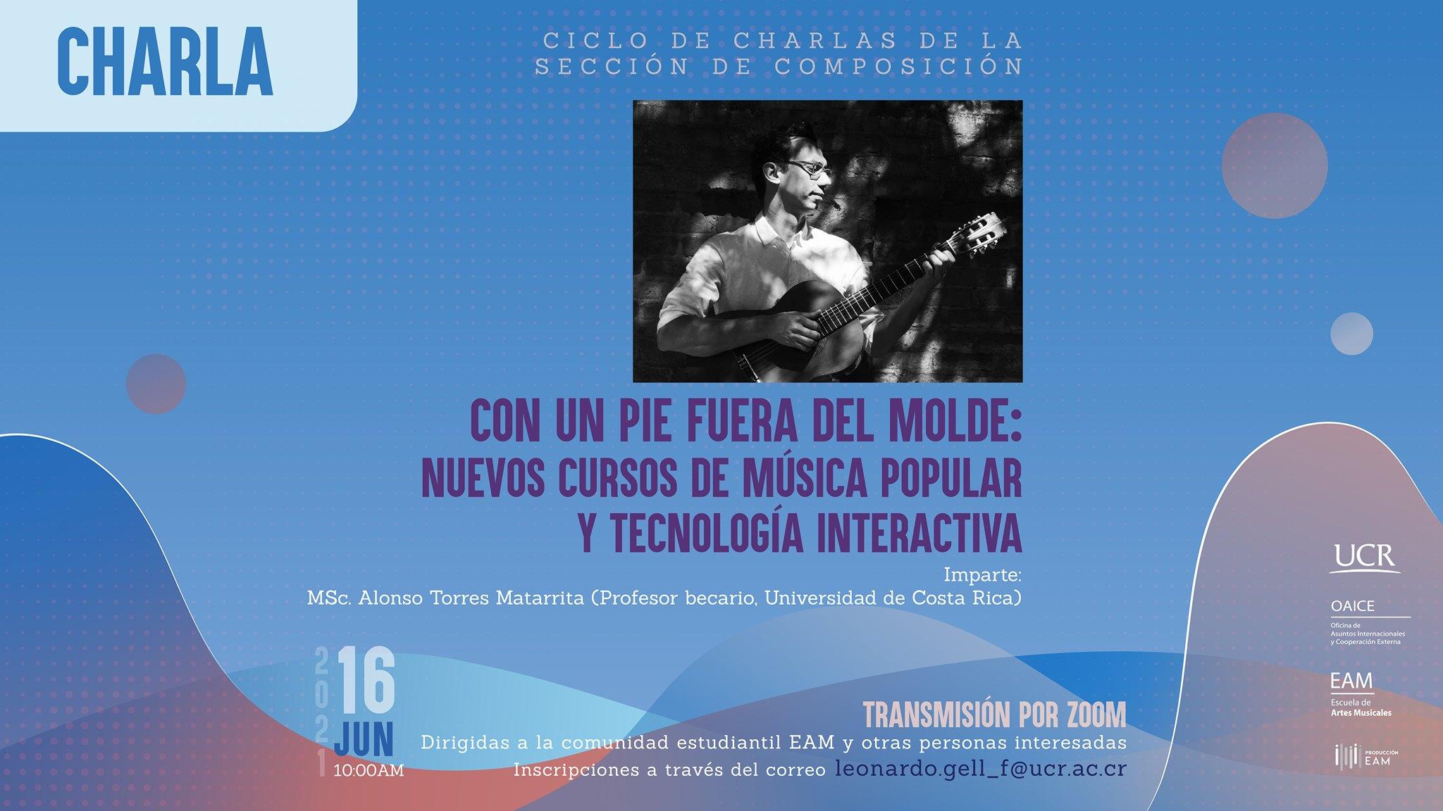 Con un pie fuera del molde: nuevos cursos de música popular y tecnología interactiva