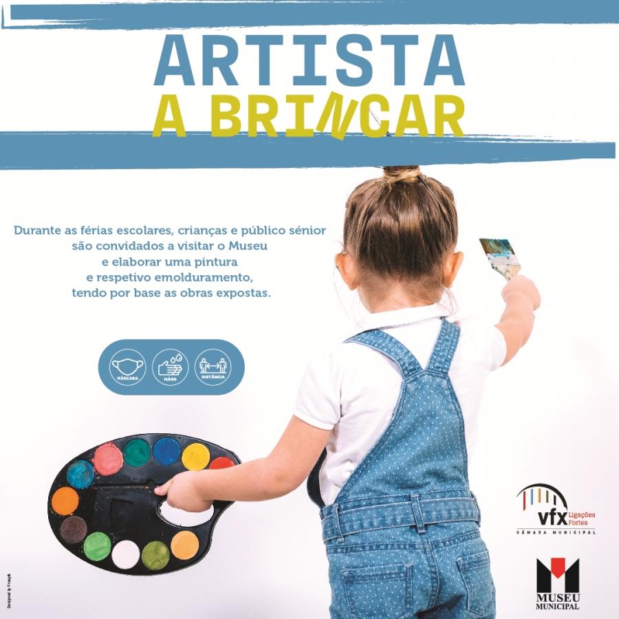 Artista a Brincar