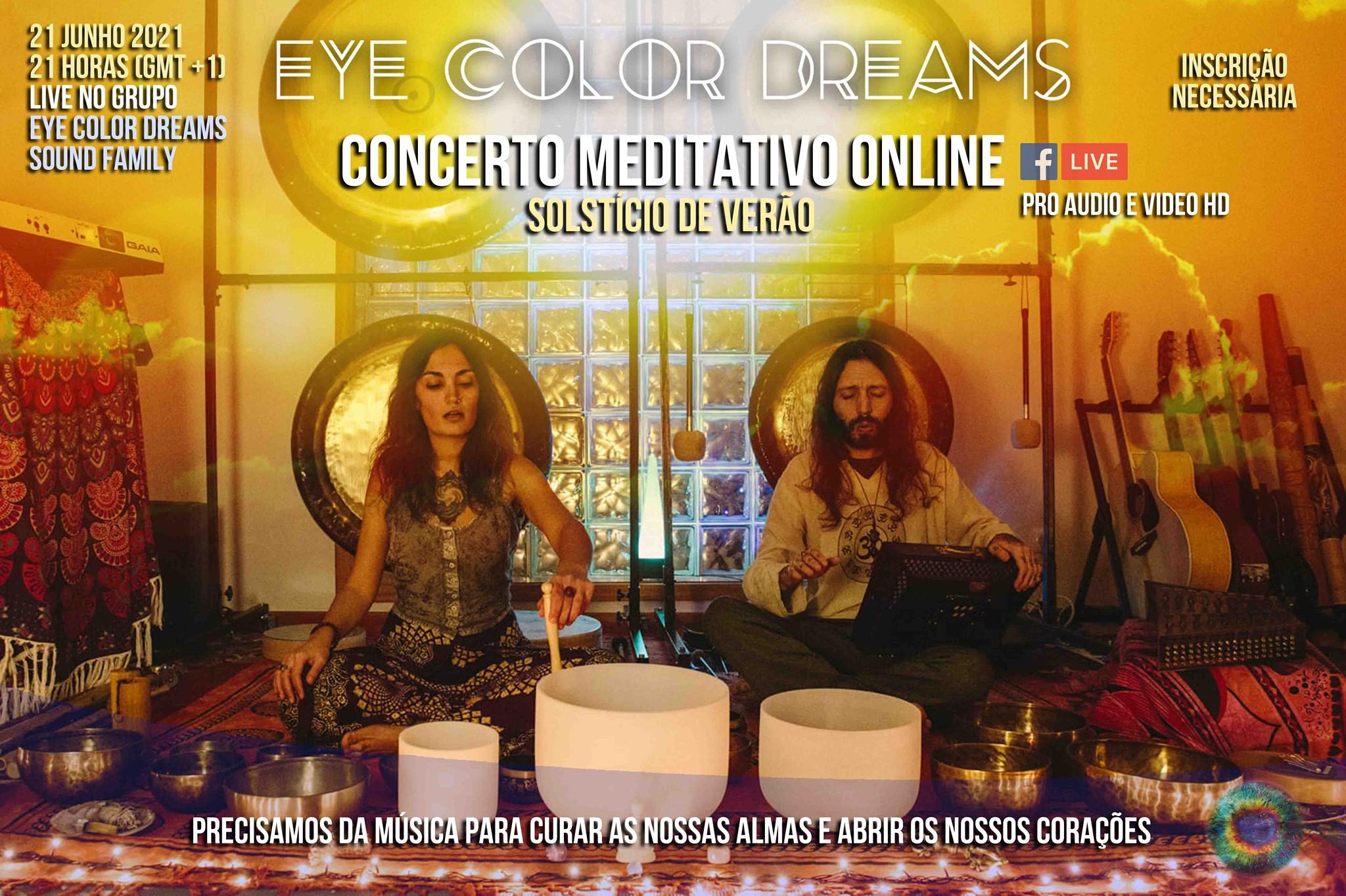 Concerto Meditativo Online (Solstício de Verão)