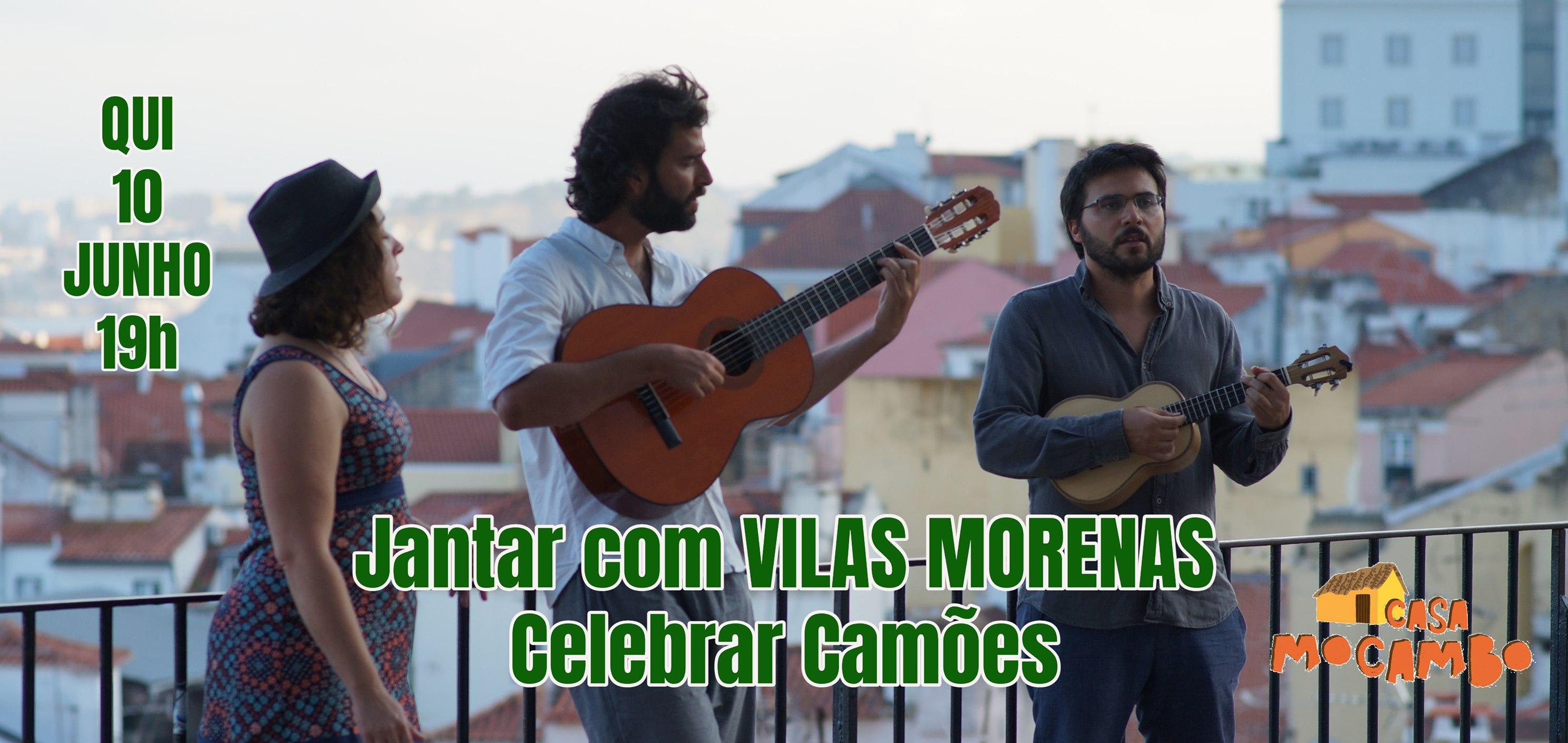Jantar com 'Vilas Morenas' - Celebrar Camões