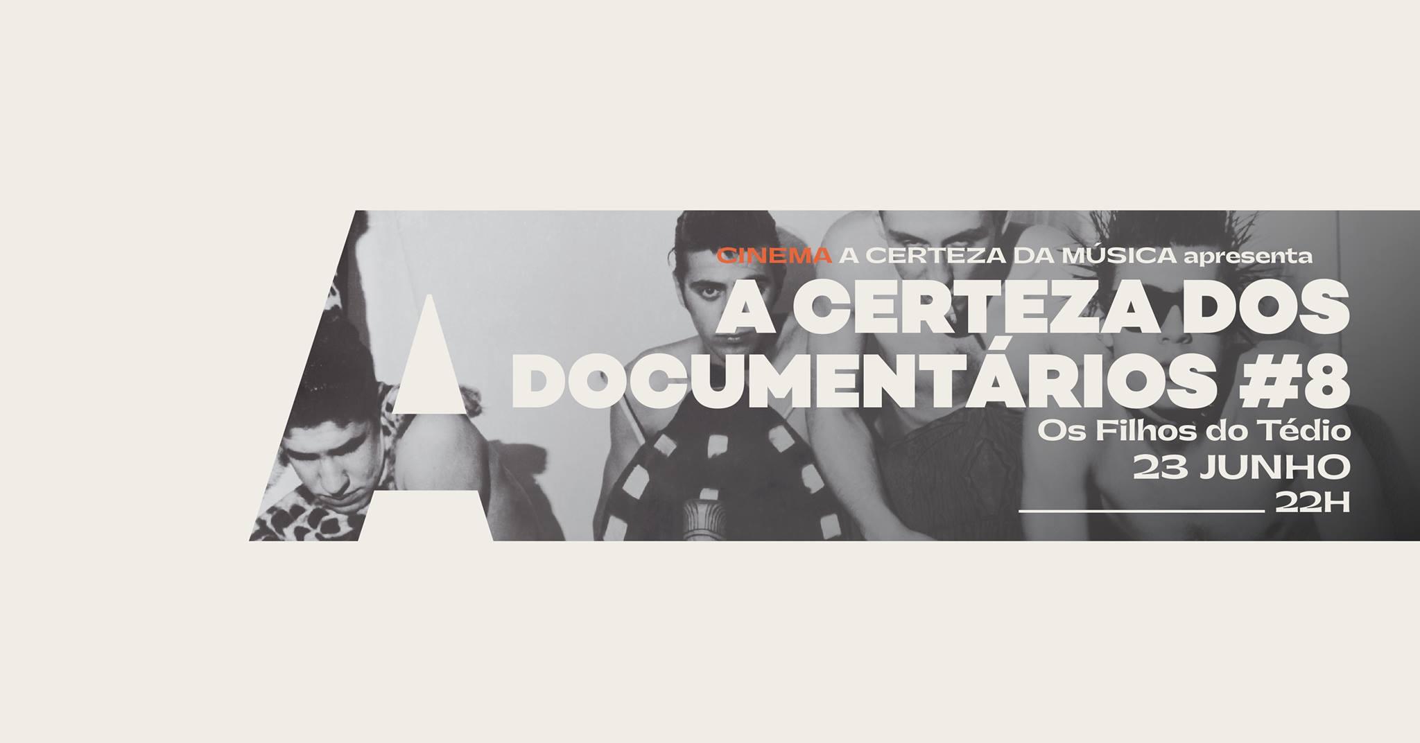 A Certeza dos Documentários #8 @Avenida Café-Concerto
