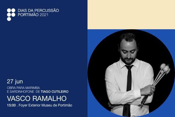Estreia obra para Marimba e Sardinhofone, de Tiago Cutileiro, com Vasco Ramalho