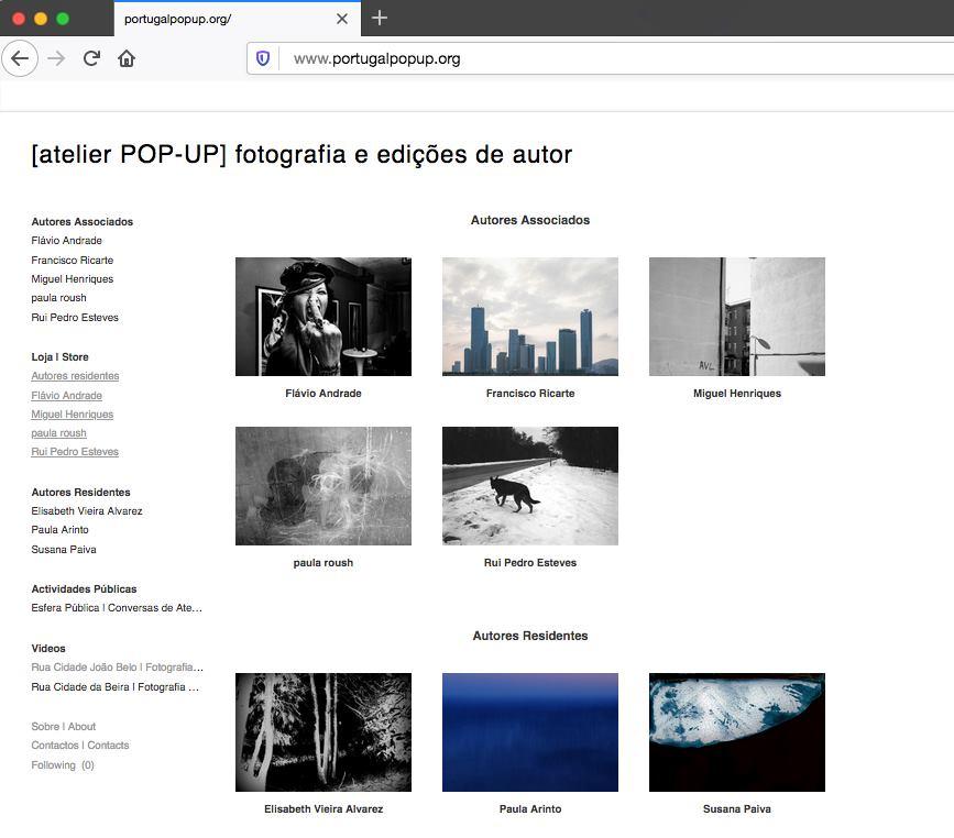 Atelier POP-UP @ Feira do Livro de Arte