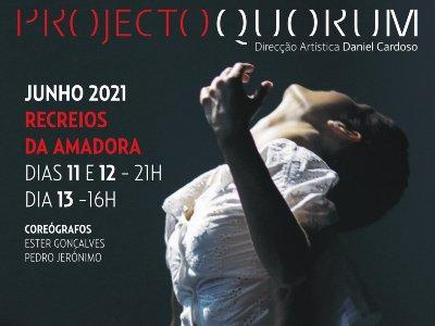 Espetáculo Dança   Projecto Quorum