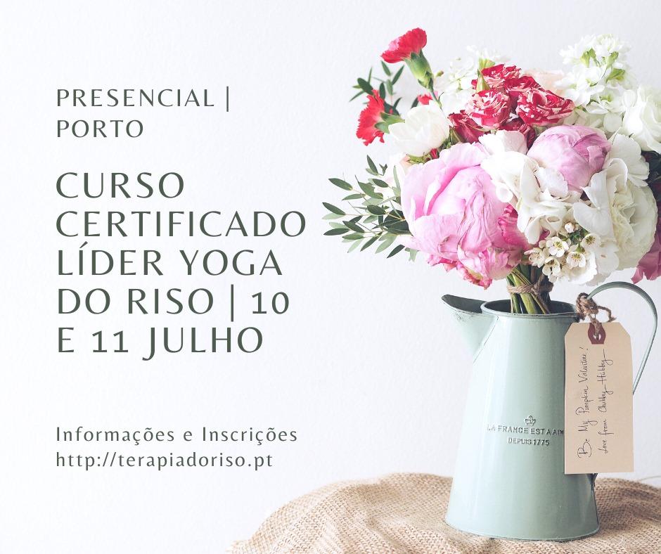 Curso Certificado de Líder de Yoga do Riso