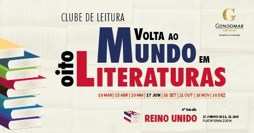 'Volta ao Mundo em Oito Literaturas' - Clube de Leitura 2021