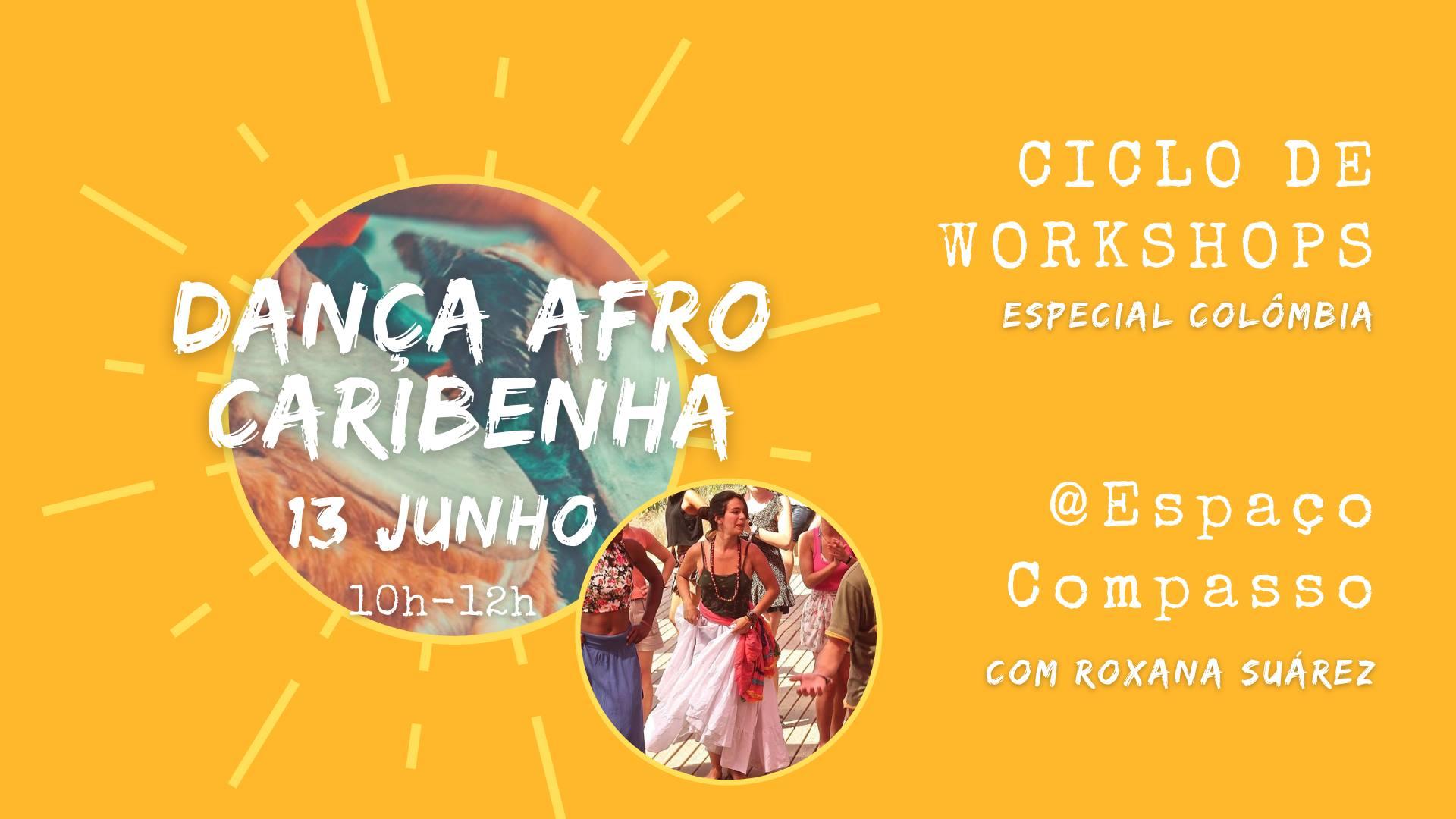 Dança AfroCaribenha - Ciclo Workshops - Colômbia