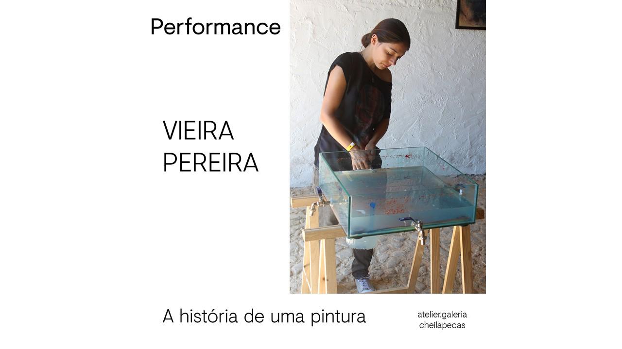 Performance 'A história de uma pintura' de Vieira Pereira'