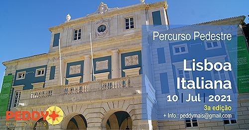 Percurso Pedestre 'Lisboa Italiana XVIII-XIX' (3ª Edição)