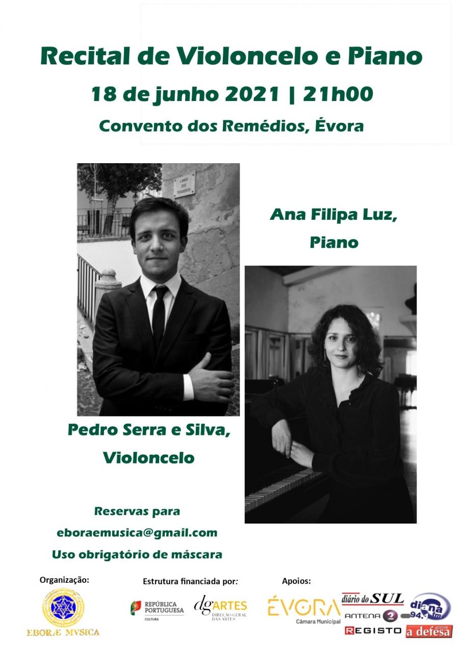 Recital de Violoncelo e Piano