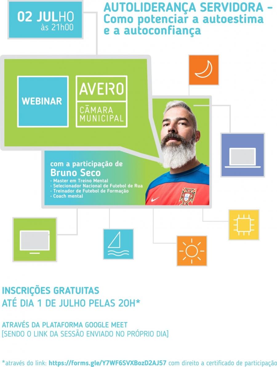 """Webinar """"AUTOLIDERANÇA SERVIDORA - Como potenciar a autoestima e a ..."""