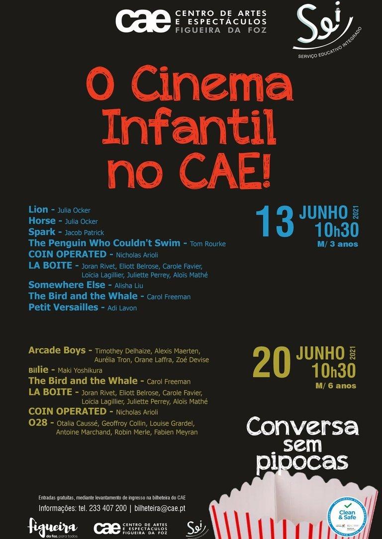 Cinema Infantil 'Conversa Sem Pipocas'