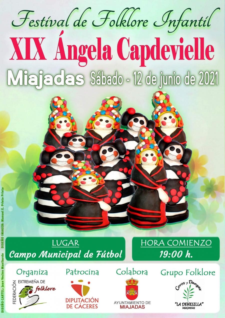 """El XIX Festival de Folklore Infantil """"Ángela Capdevielle"""""""