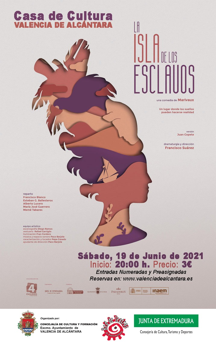 Teatro: LA ISLA DE LOS ESCLAVOS